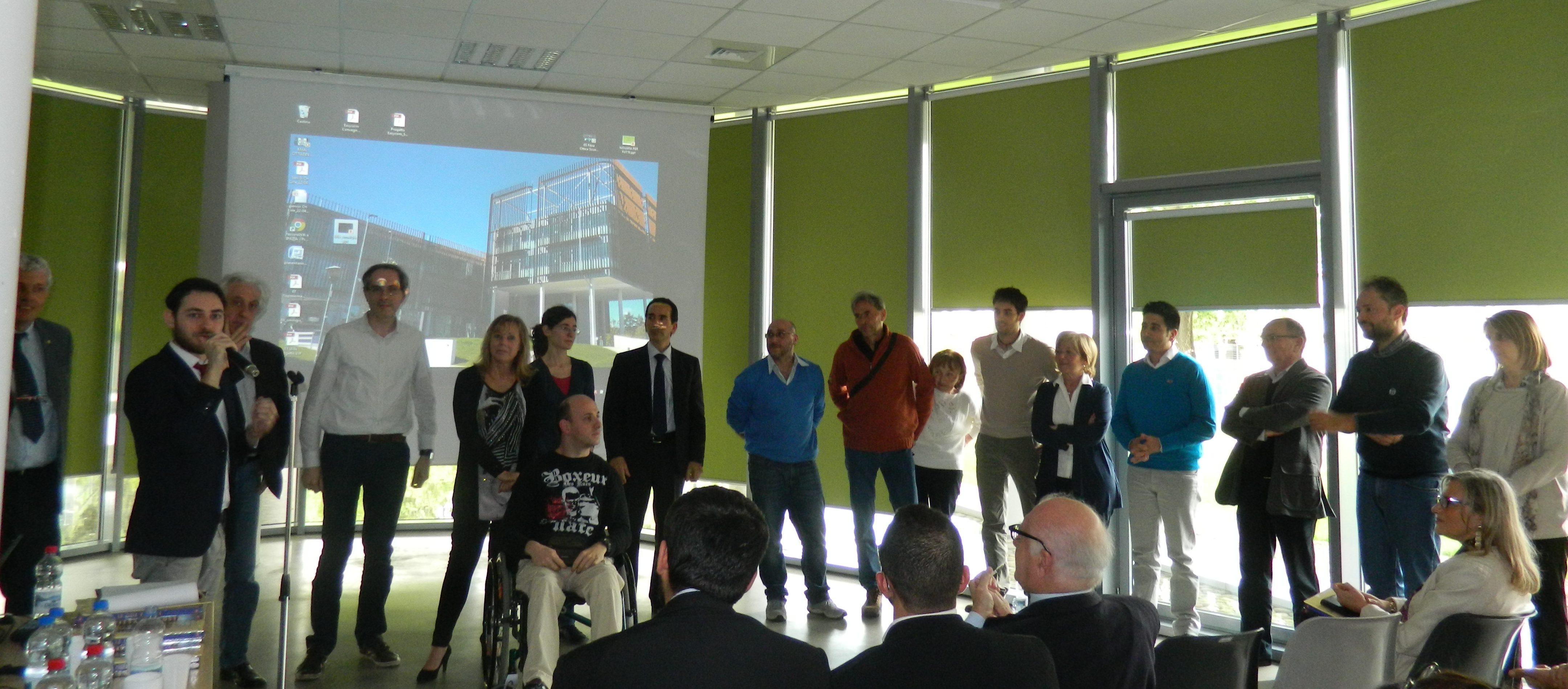 I dipendenti del CED - Servizio ICT del Comune di Novara