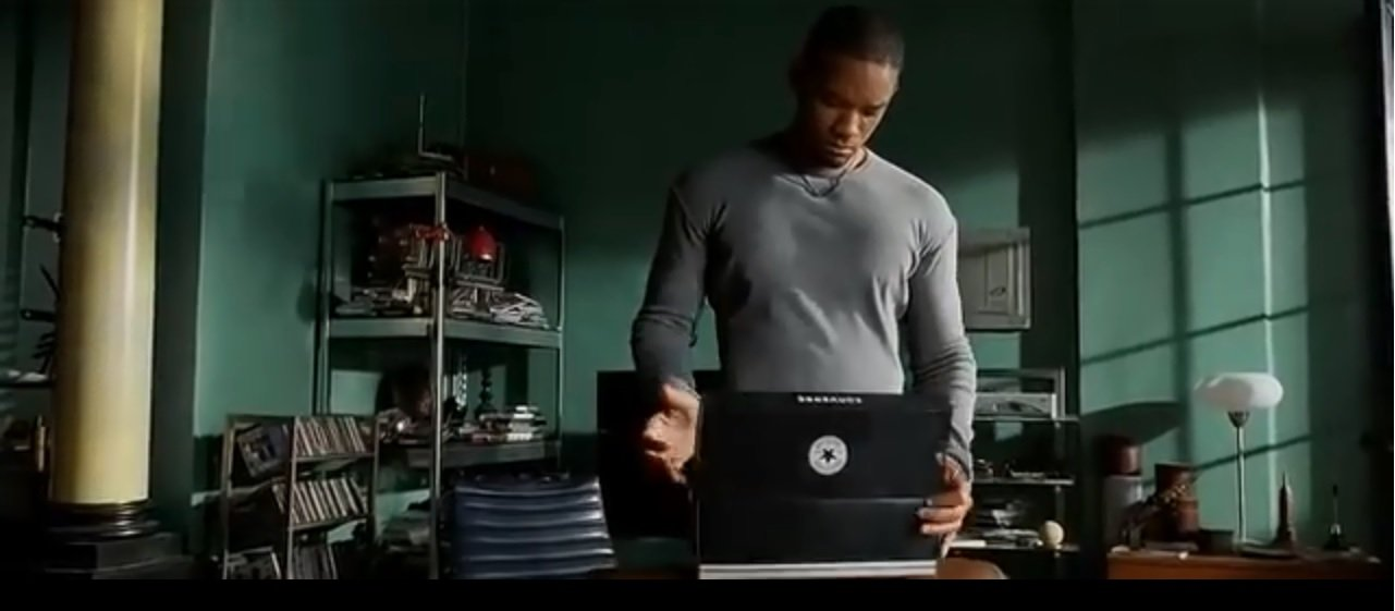 product placement converse all stars io robot will smith