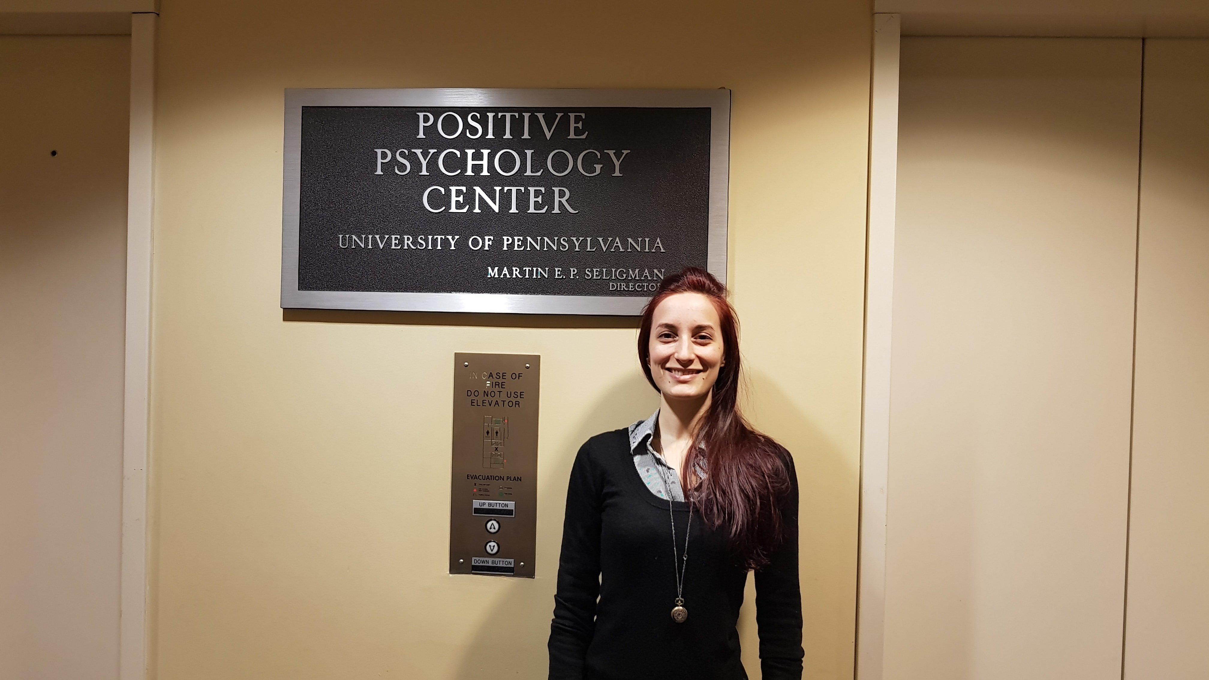 Alice Chirico - Centro di Psicologia positiva Filadelfia Penn University