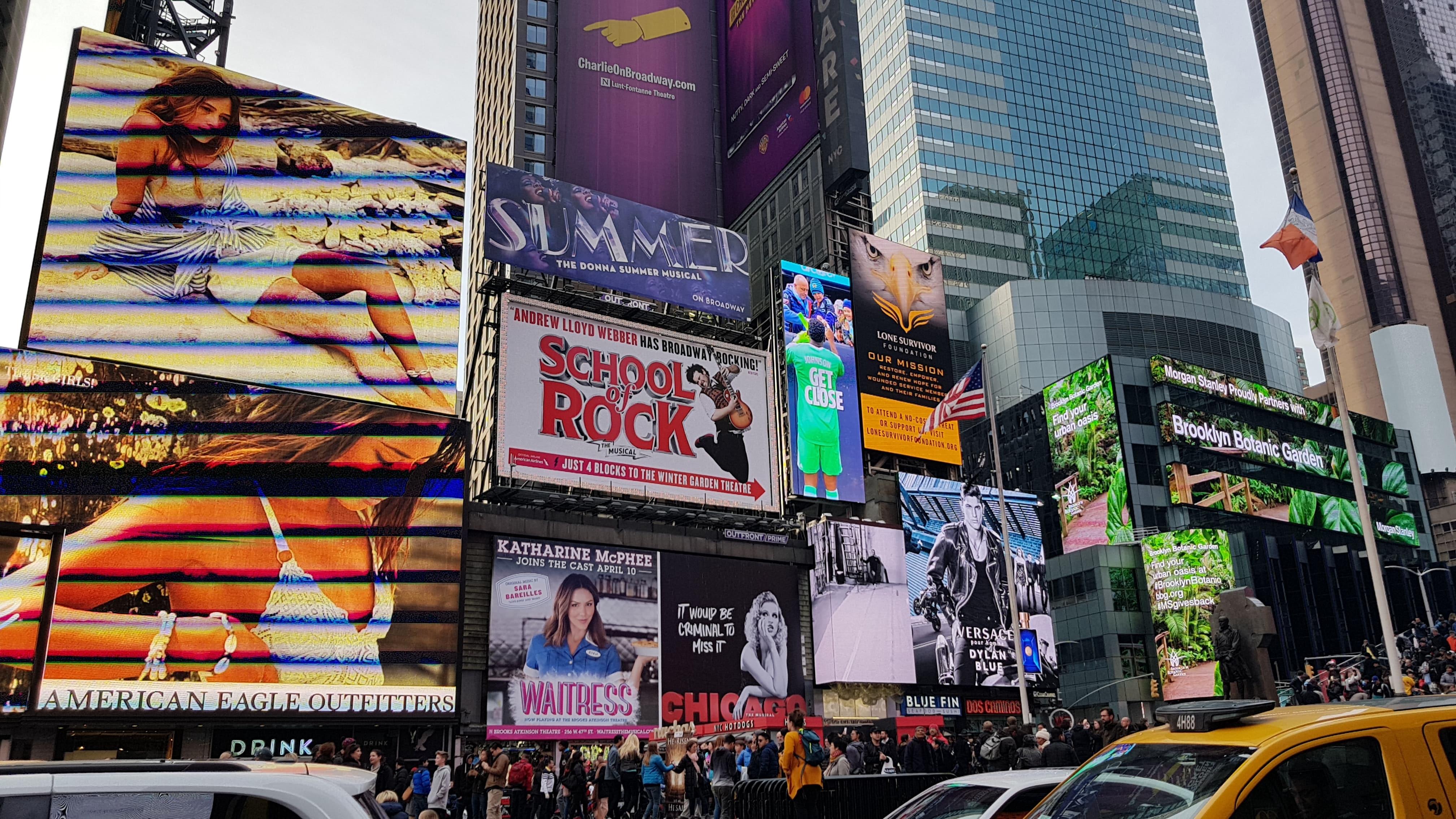 New York - Times Quare