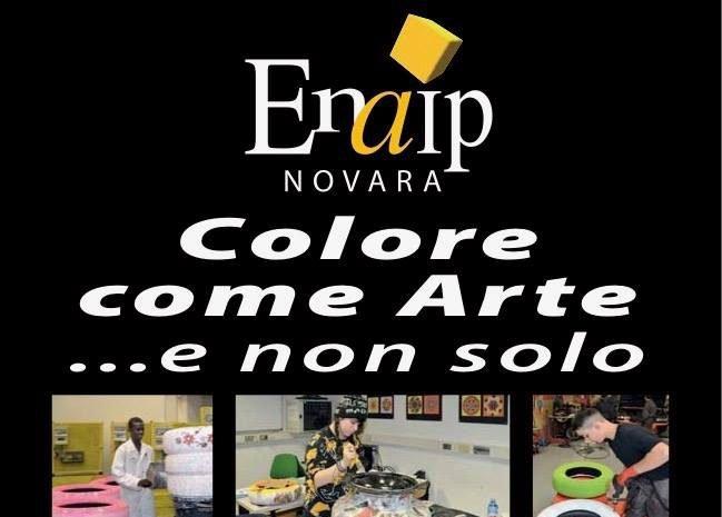 L'Enaip Novara in mostra al Broletto, siete tutti invitati!