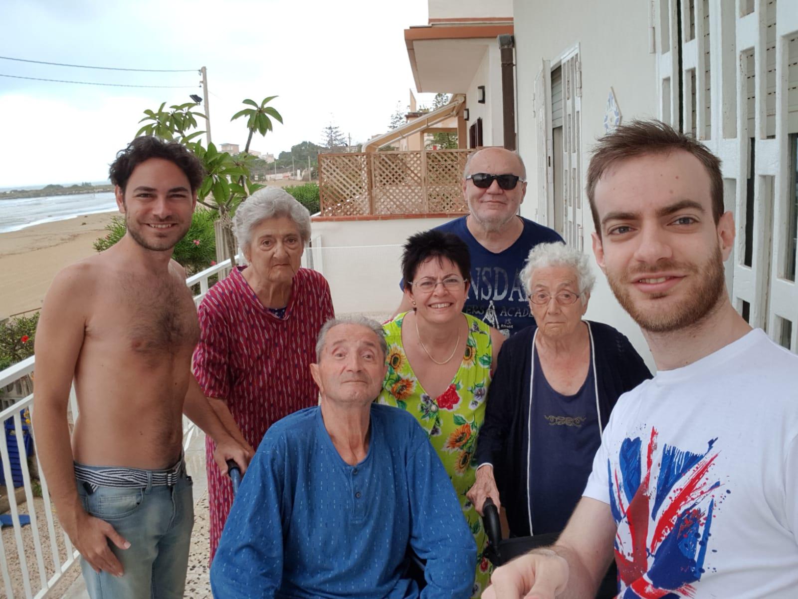 Ciao Nonna Angela, ti vogliamo bene. Per sempre.
