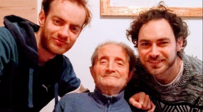 Ciao nonno Raffaele, grazie per tutto. per sempre con la nonna Angela